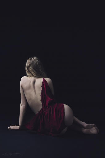 lisa_wittmann_photography_nude_woman_sexy_pale_blonde_red_black_back